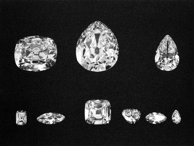 Cullinan 9 Major Diamonds