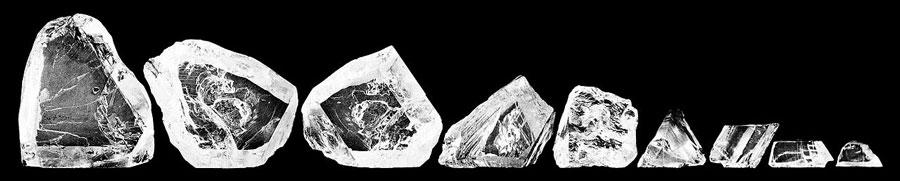Cullinan Diamant 9 Pieces